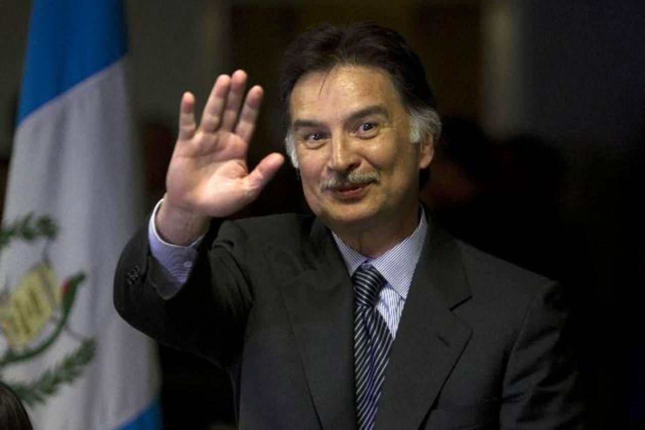 El expresidente guatemalteco Alfonso Portillo.