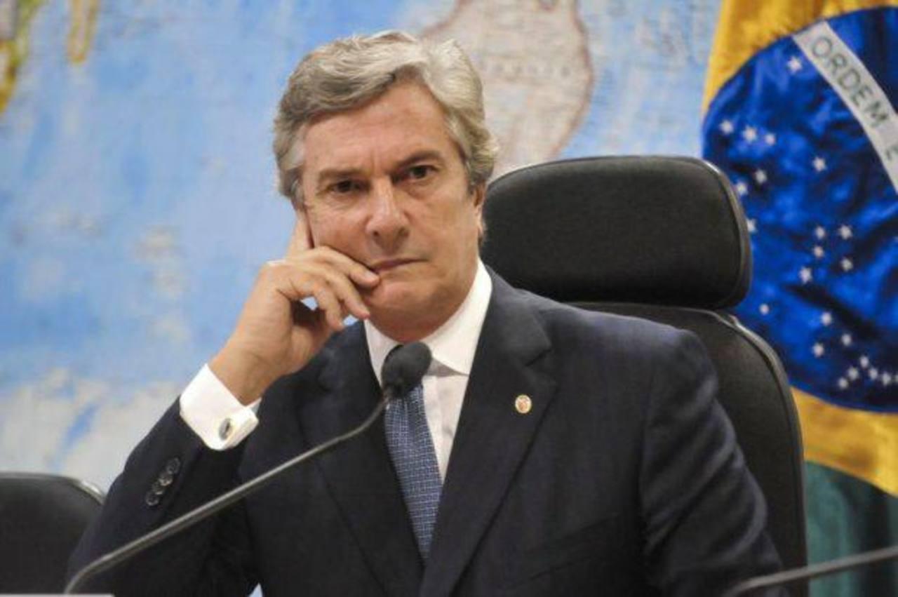 El exgobernante Fernando Collor de Mello dice que las acusaciones no tienen fundamento. foto edh / archivo