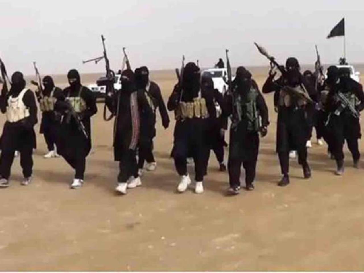 Imagen de un vídeo propagandístico del grupo yihadista Estado Islámico. foto edh / archivo