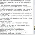 En la página de Facebook Policía Nacional Civil Sindical se publicó el comunicado de alerta a los agentes. Foto EDH / Facebook.