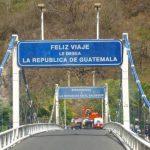 Guatemala suprimirá cruces fronterizos con El Salvador