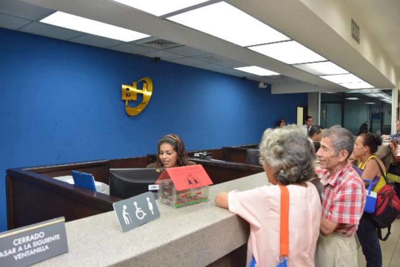 Los bancos Hipotecario y BFA compartirán espacio en algunas agencias. foto edh / David Rezzio