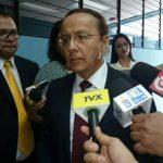 Gerson Martínez, acudió hoy como testigo al Juzgado 5o. de Instrucción.