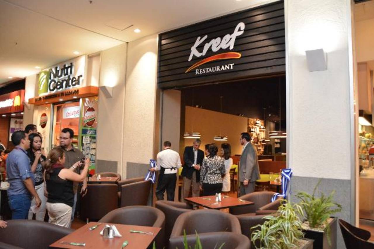 Kreef está ubicado en la plaza de cafés del centro comercial. Foto edh/ Cortesía