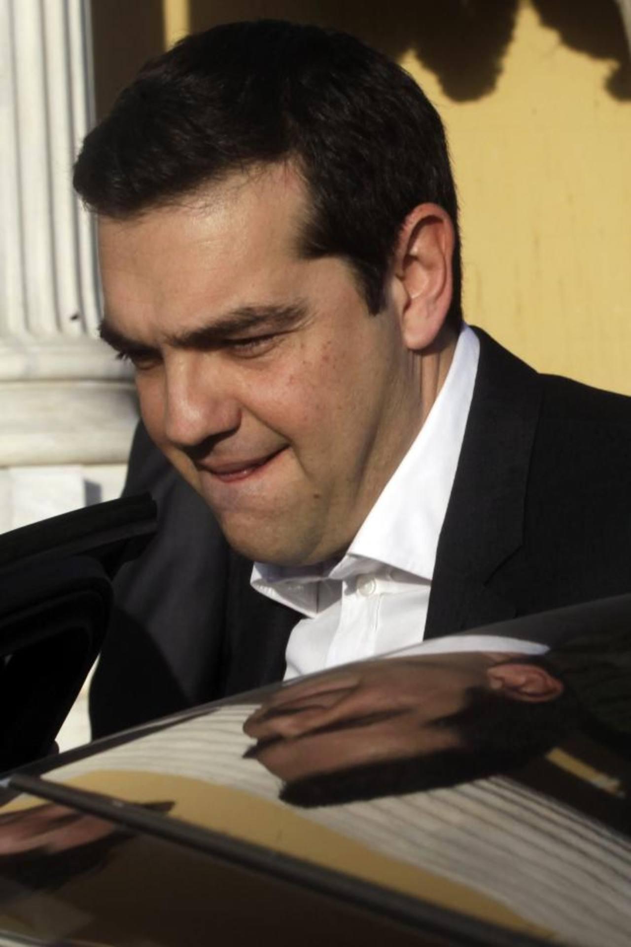 Alexis Tsipras es el candidato de Syriza. foto edh / EFE