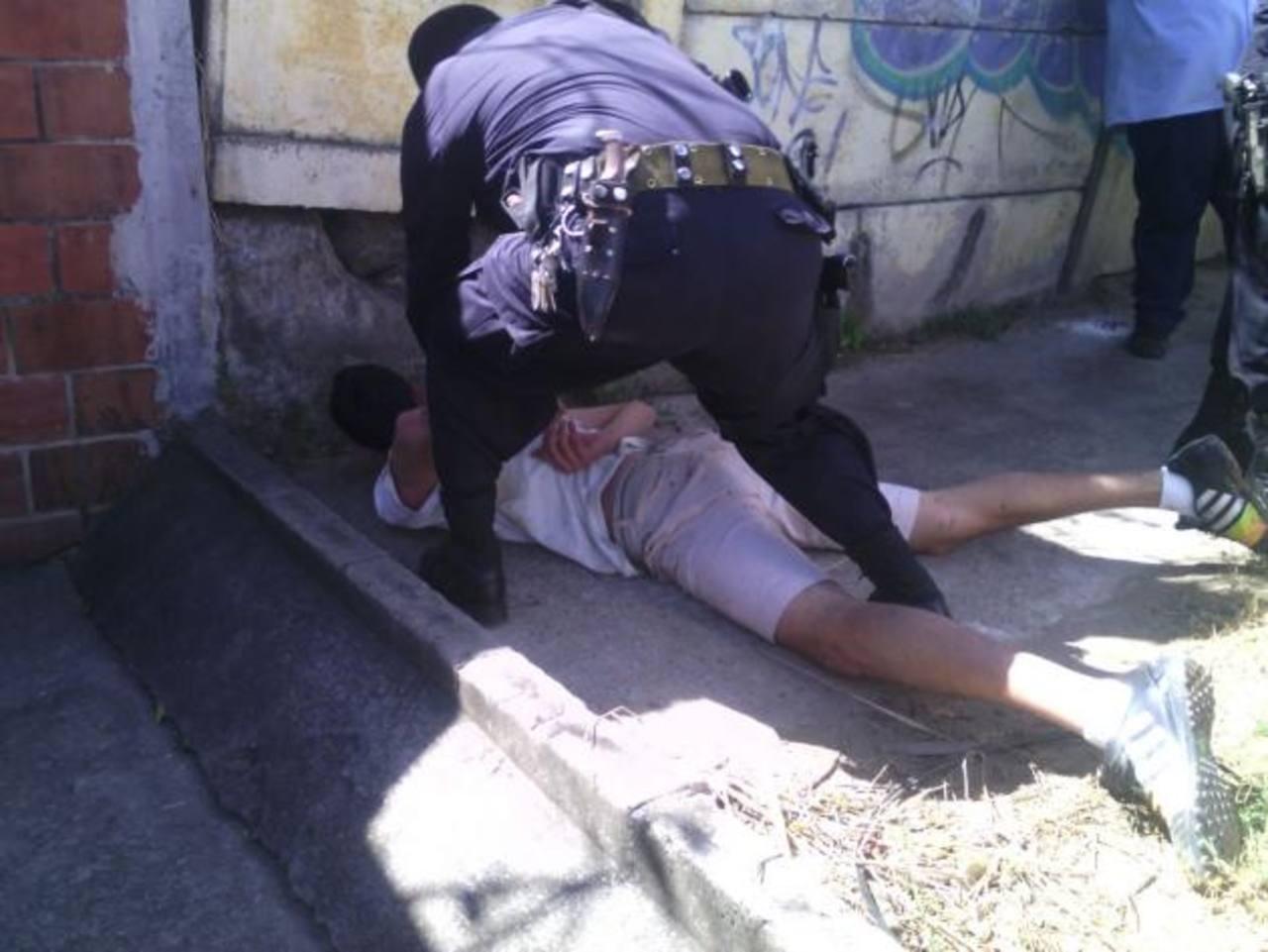 Policía detiene a pandilleros que intentaban privar de libertad a joven