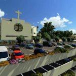 Avanza proyecto de construcción de Complejo Parroquial en Santa Elena
