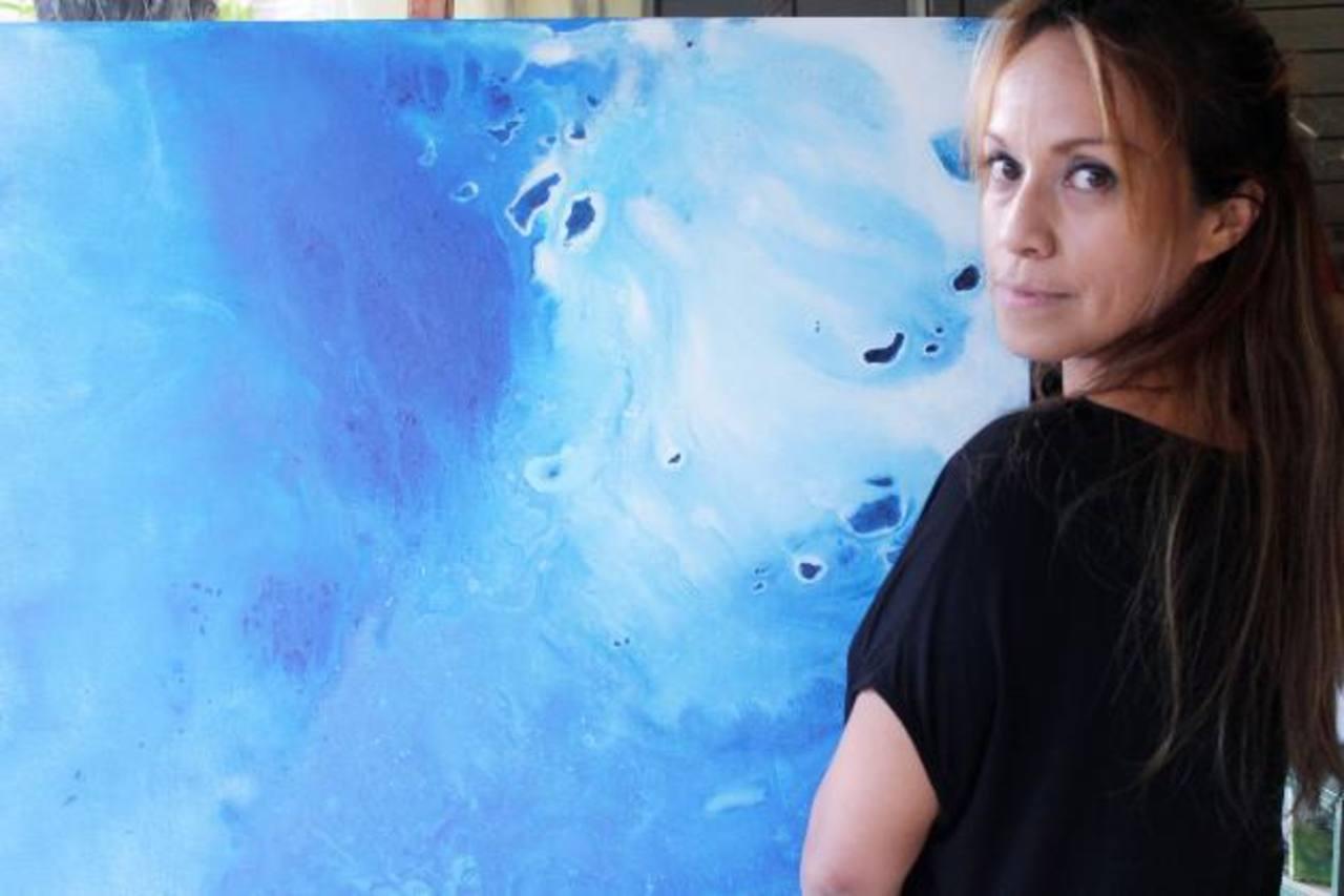 Anne Gisele es una artista francesa radicada en el país.