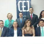Abogados propuestos por Centro de Estudios Jurídicos para magistrados de la CSJ y CNJ. Foto EDH / E. Maldonado