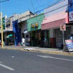 En el centro de San Miguel hay muchos locales en alquiler o en venta que antes funcionaron como negocios. En 2014 hubo un día en que el comercio cerró por las amenazas de los pandilleros.