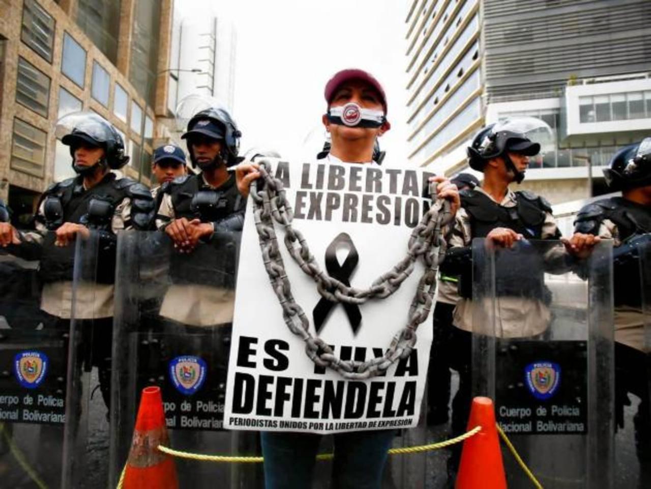 La libertad de prensa mostró un deterioro global en 2014, según un informe publicado por la organización internacional Reporteros Sin Fronteras. foto edh / archivo
