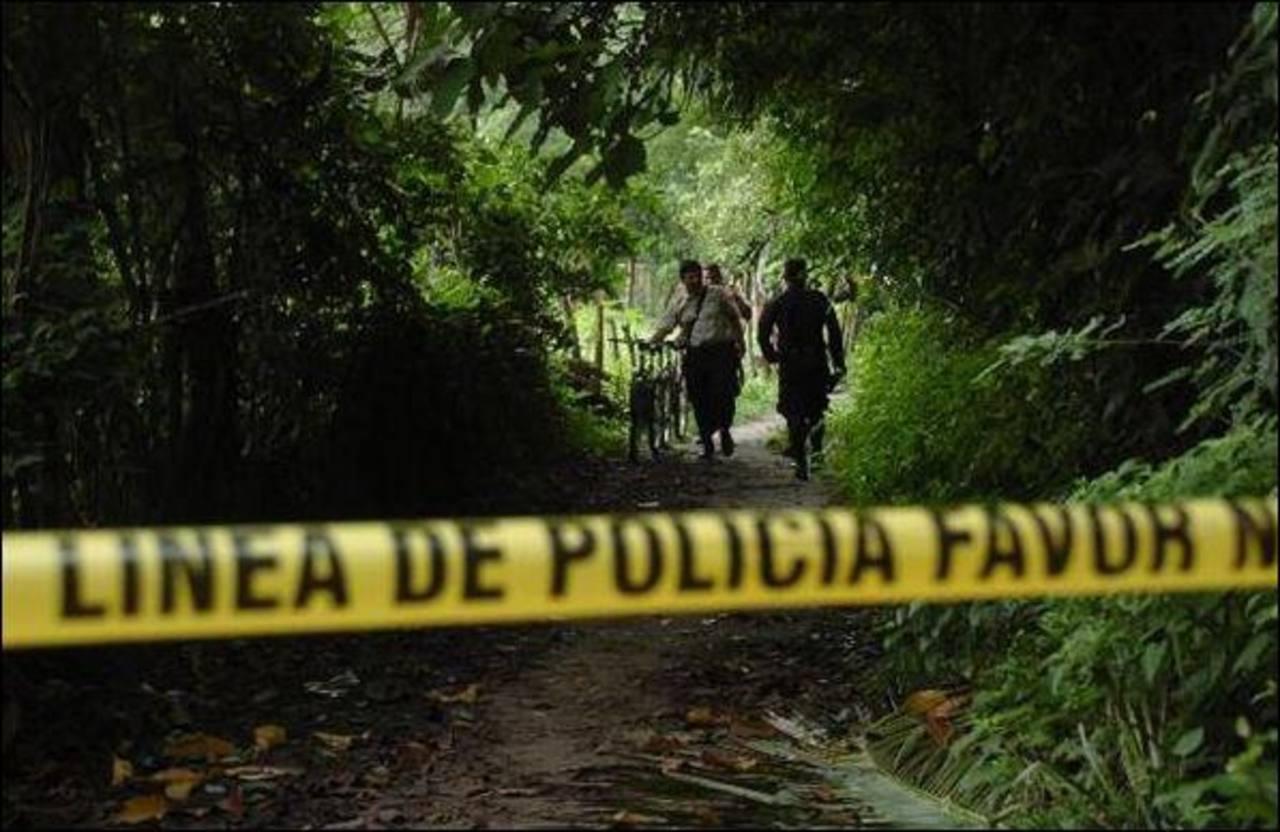 Medicina Legal registró 3,942 homicidios en 2014, 30 más que la PNC