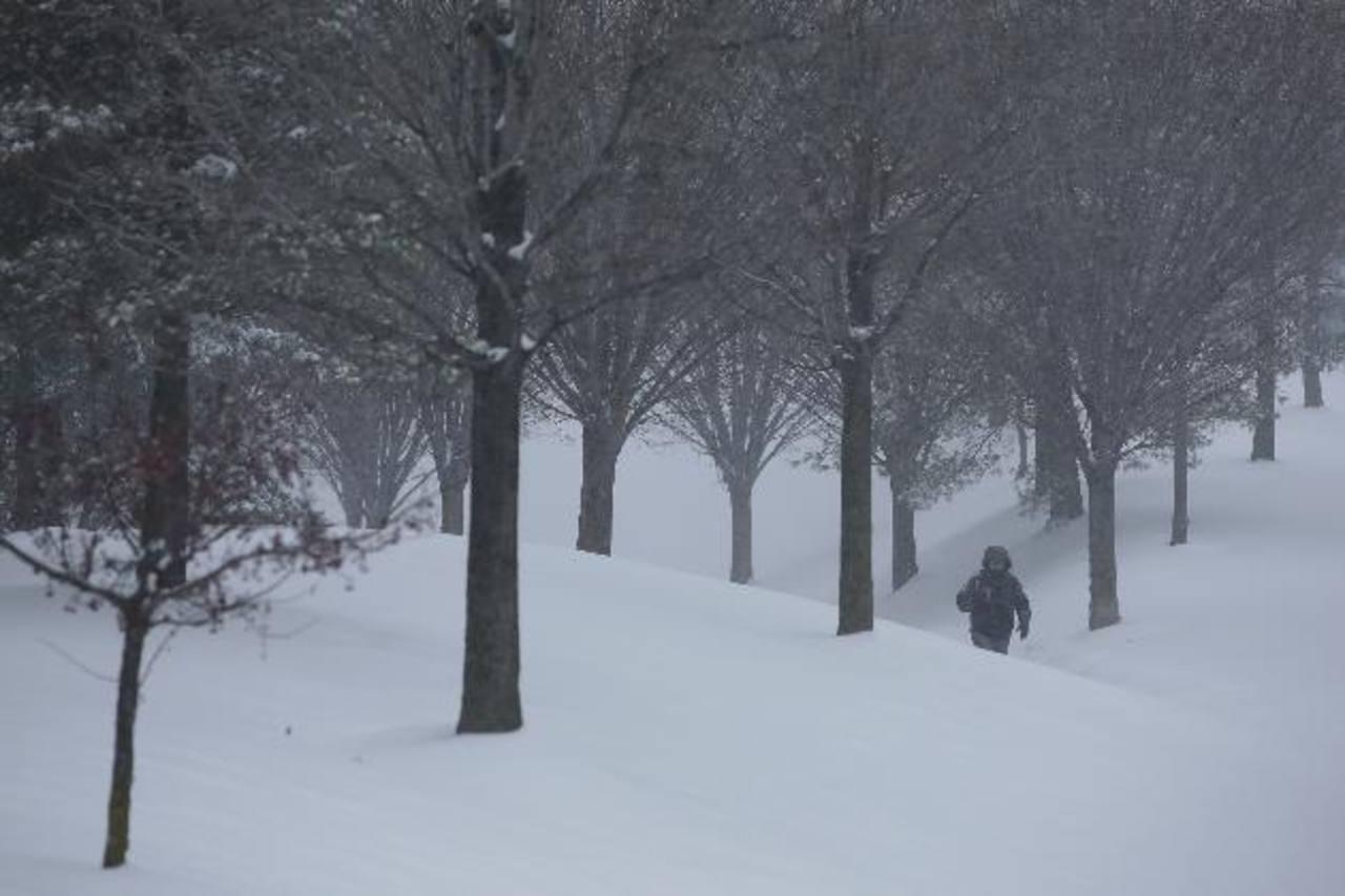 Un nuevo temporal de nieve golpea Estados Unidos