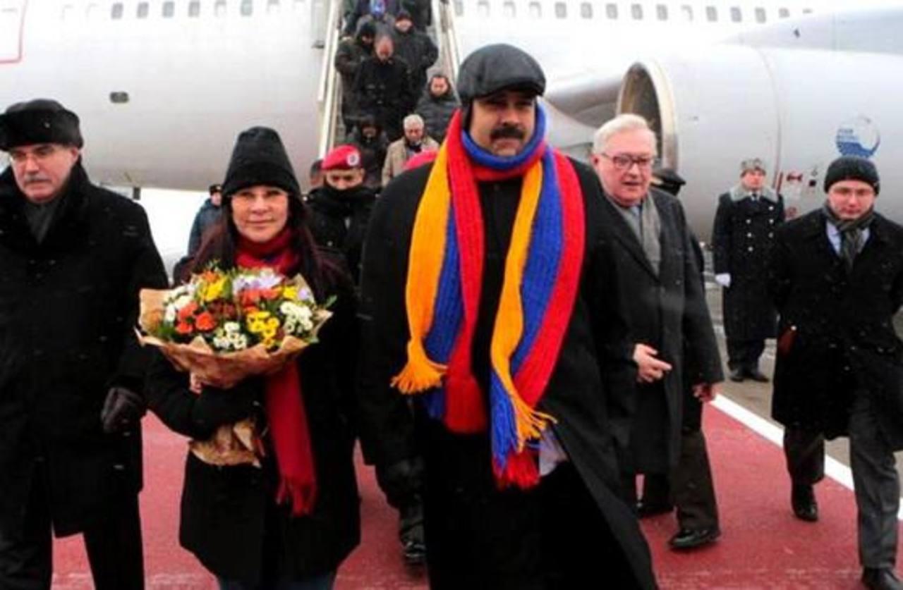Maduro realizó una visita al gobierno de Rusia antes de China