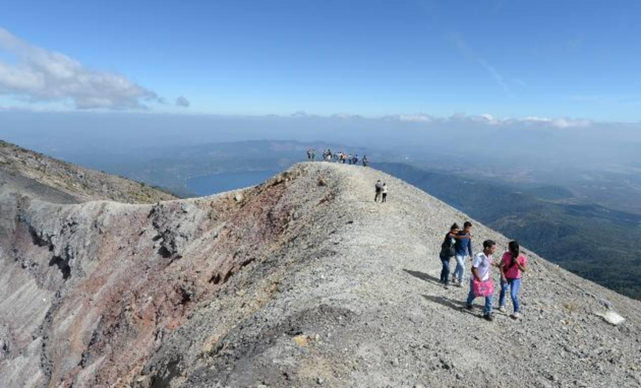 Majestuoso el volcán Ilamatepec y sus atractivos
