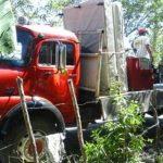 Policías patrullaron algunas zonas de San Luis La Herradura, pero se retiraron.