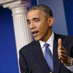 El presidente Barack Obama durante una conferencia de prensa en la Casa Blanca, en Washington, el 19 de diciembre de 2014.
