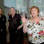 La fiscal Viviana Fein (d) espera recibir los resultados de las pericias balísticas del arma que dio muerte al fiscal. foto edh / perfil.com