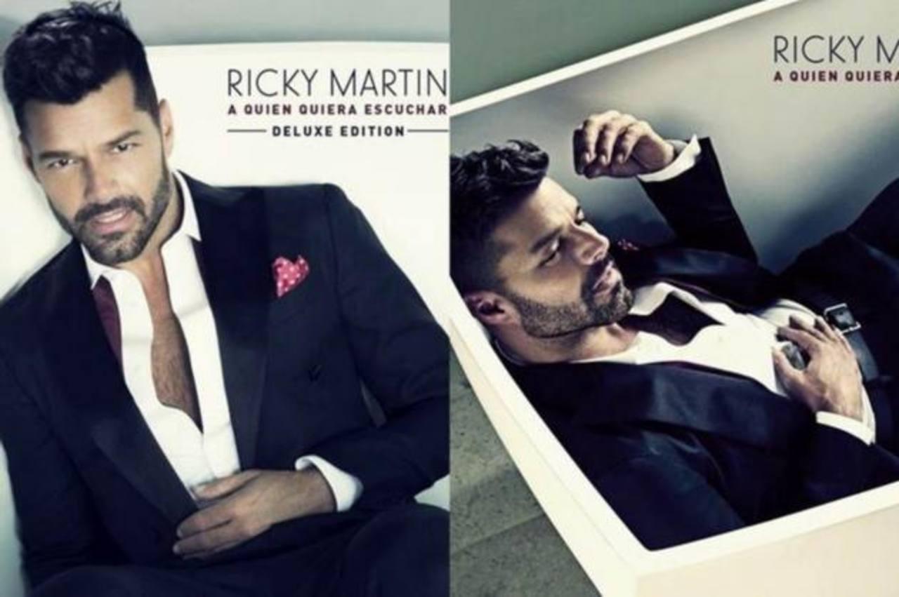 El cantante Ricky Martin aprovechó las redes sociales para promocionar l aportada de su nuevo disco.