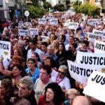 La comunidad judía argentina se movilizó ayer y demandó justicia por del fiscal Alberto Nisman. foto edh / tomada de clarín