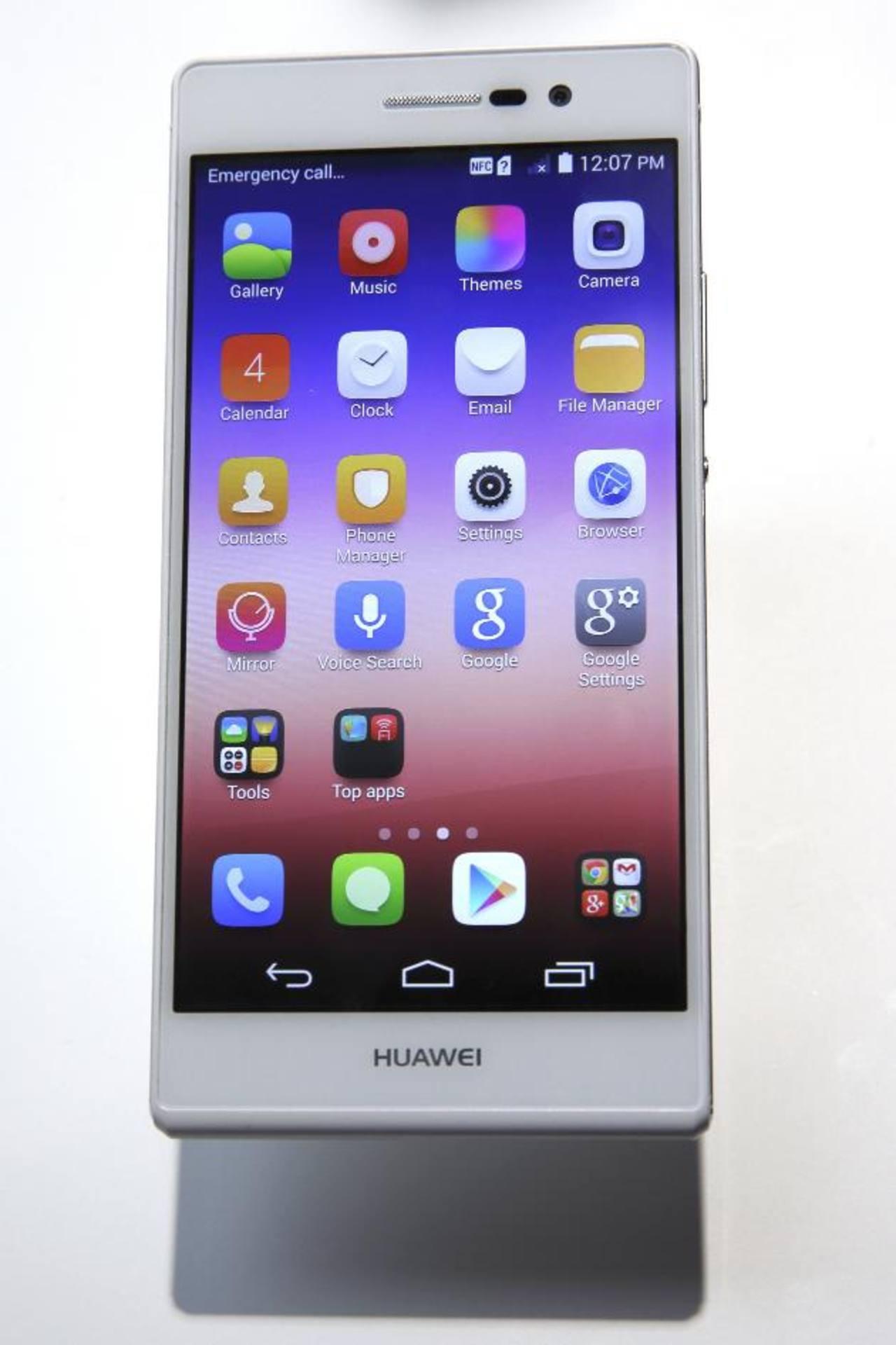 Huawei es tercera en el mercado de smartphone.