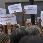 Venezolanos protestan contra la falta de medicinas. foto edh / WWW.ELIMPULSO.COM