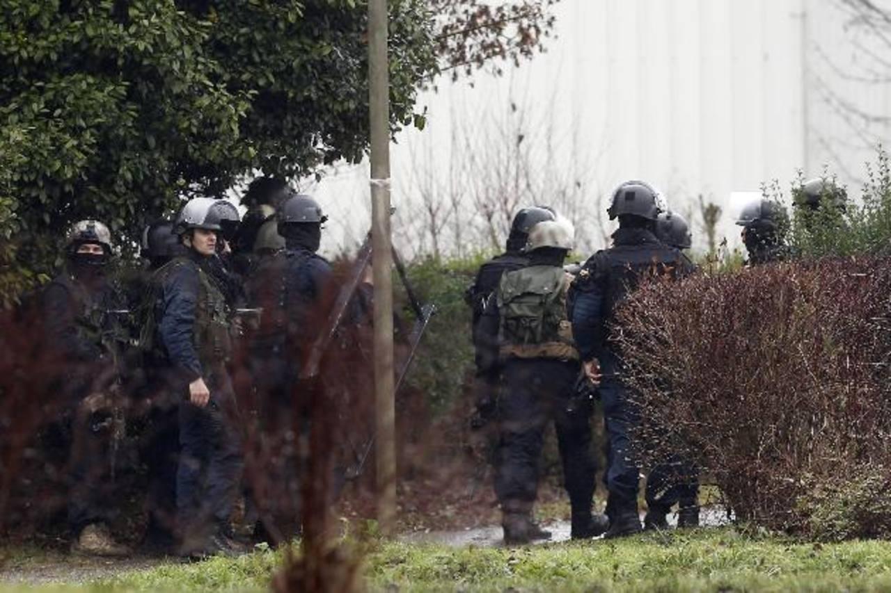 La policía francesa ha copado al sospechoso.