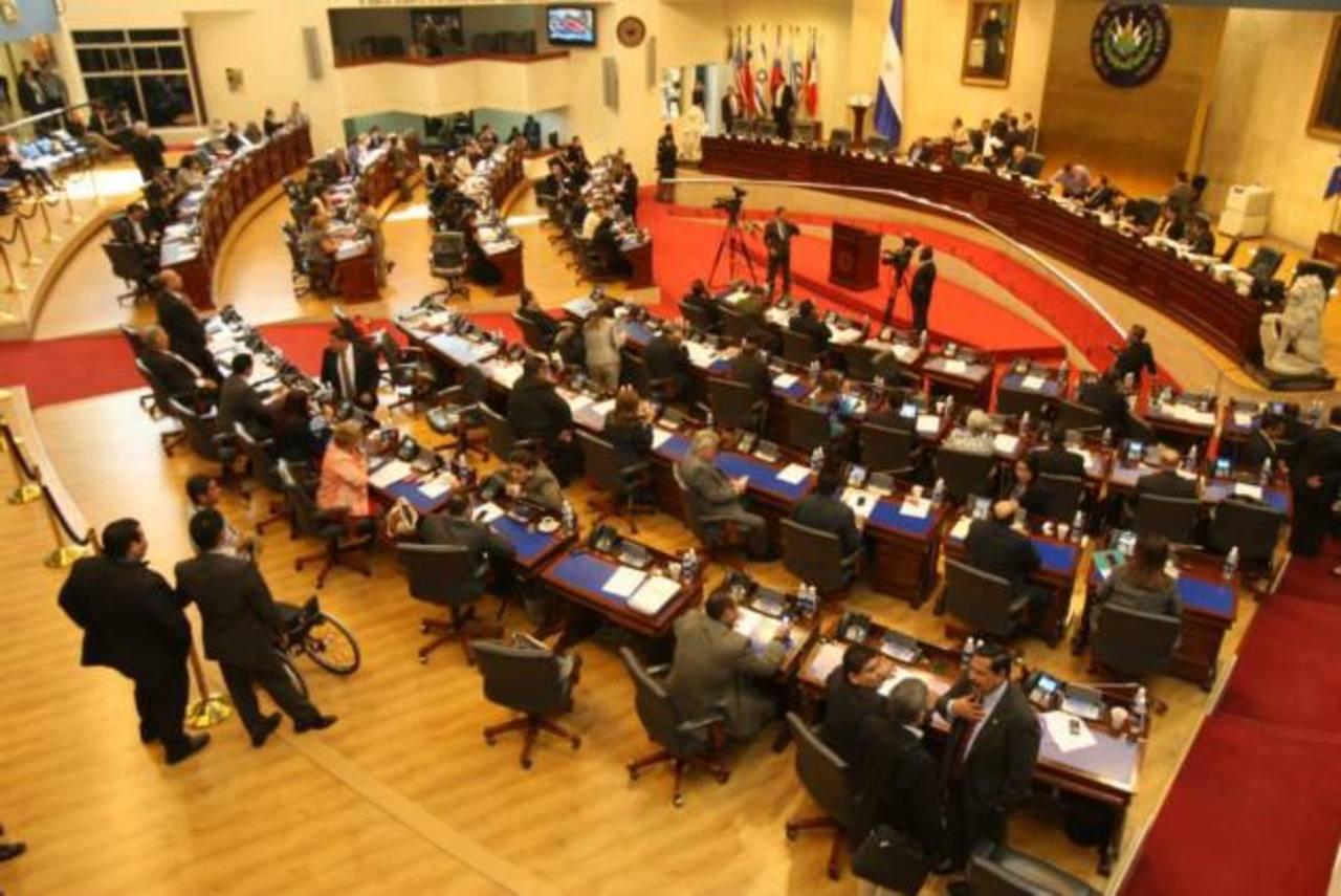 La modificación constitucional fue aprobada en primera votación en la legislatura 2009-2012 con 43 votos. foto edh / archivo