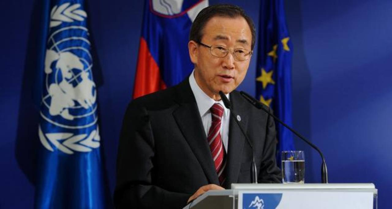 Ban Ki-moon llega hoy al país por conmemoración de Acuerdos de Paz