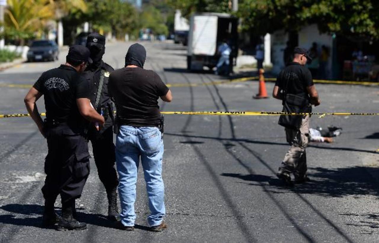 El menor José Matías, de 16 años, y supuesto pandillero, fue asesinado ayer en San Bartolo, Ilopango. Foto EDH / Archivo.