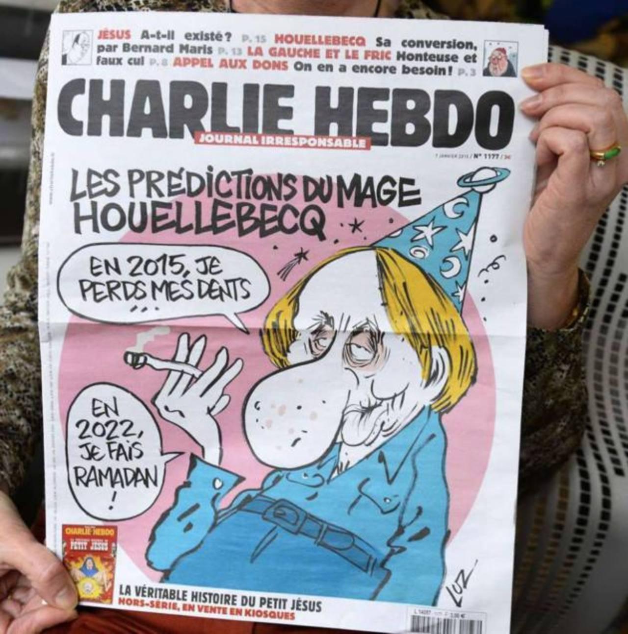 10 portadas controversiales de la revista atacada en Francia