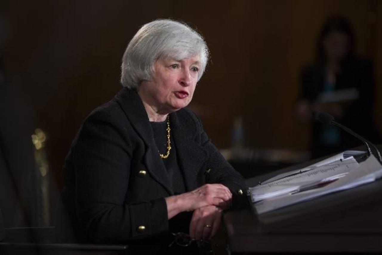 Imagen de archivo de la presidenta de la Reserva Federal, Janet Yellen.