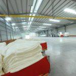 Imagen del nuevo techo industrial de Pettenati, que será equipado este año.