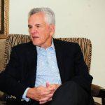 Stanley Motta conversó en exclusiva con Expansión durante una reciente visita a El Salvador. Foto de Expansión / RENÉ Quintanilla.