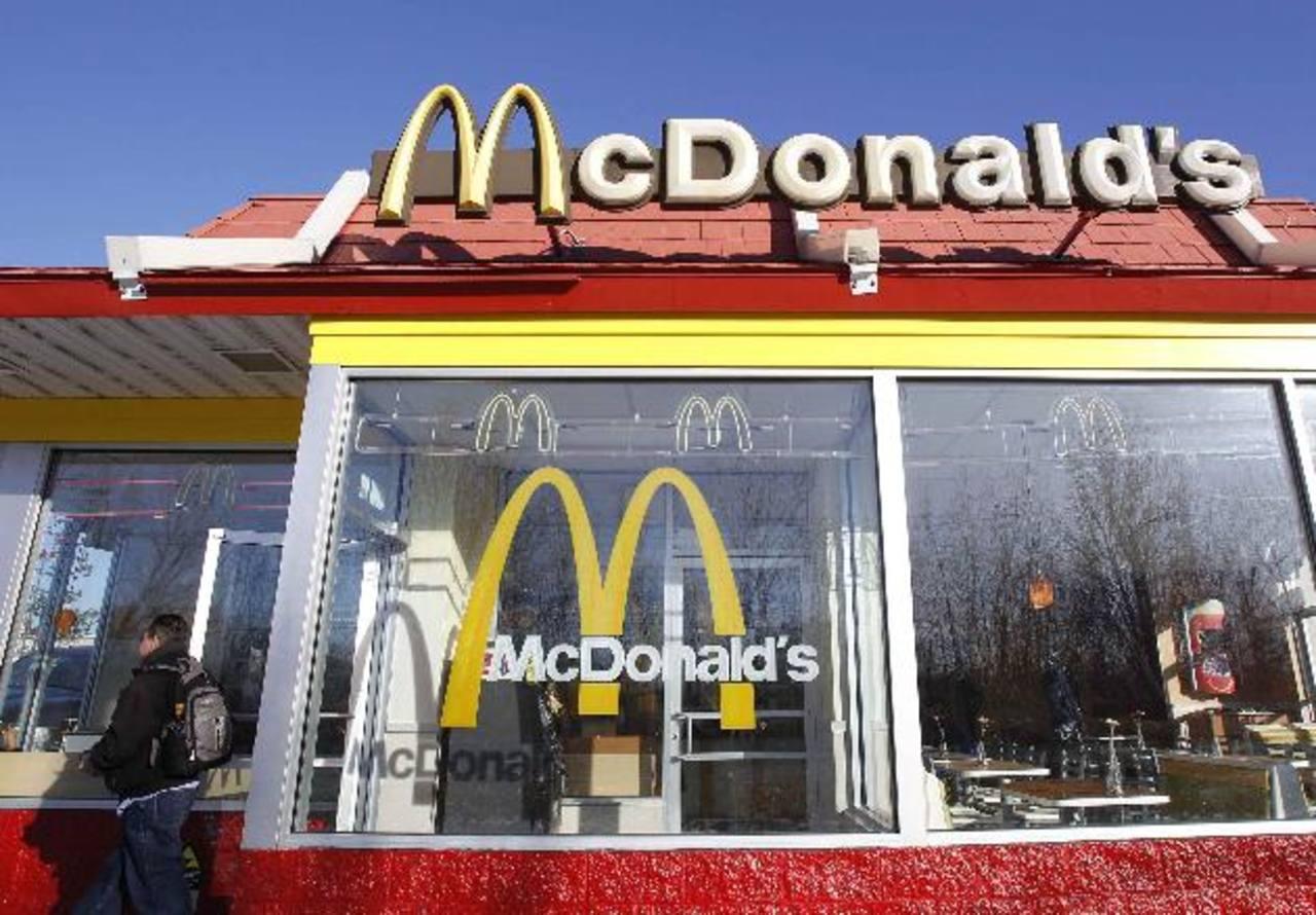 Imagen de un restaurante McDonald's en Nueva York, EE.UU.