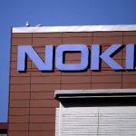 Fachada de las oficinas centrales de Nokia en Espoo, Finlandia.