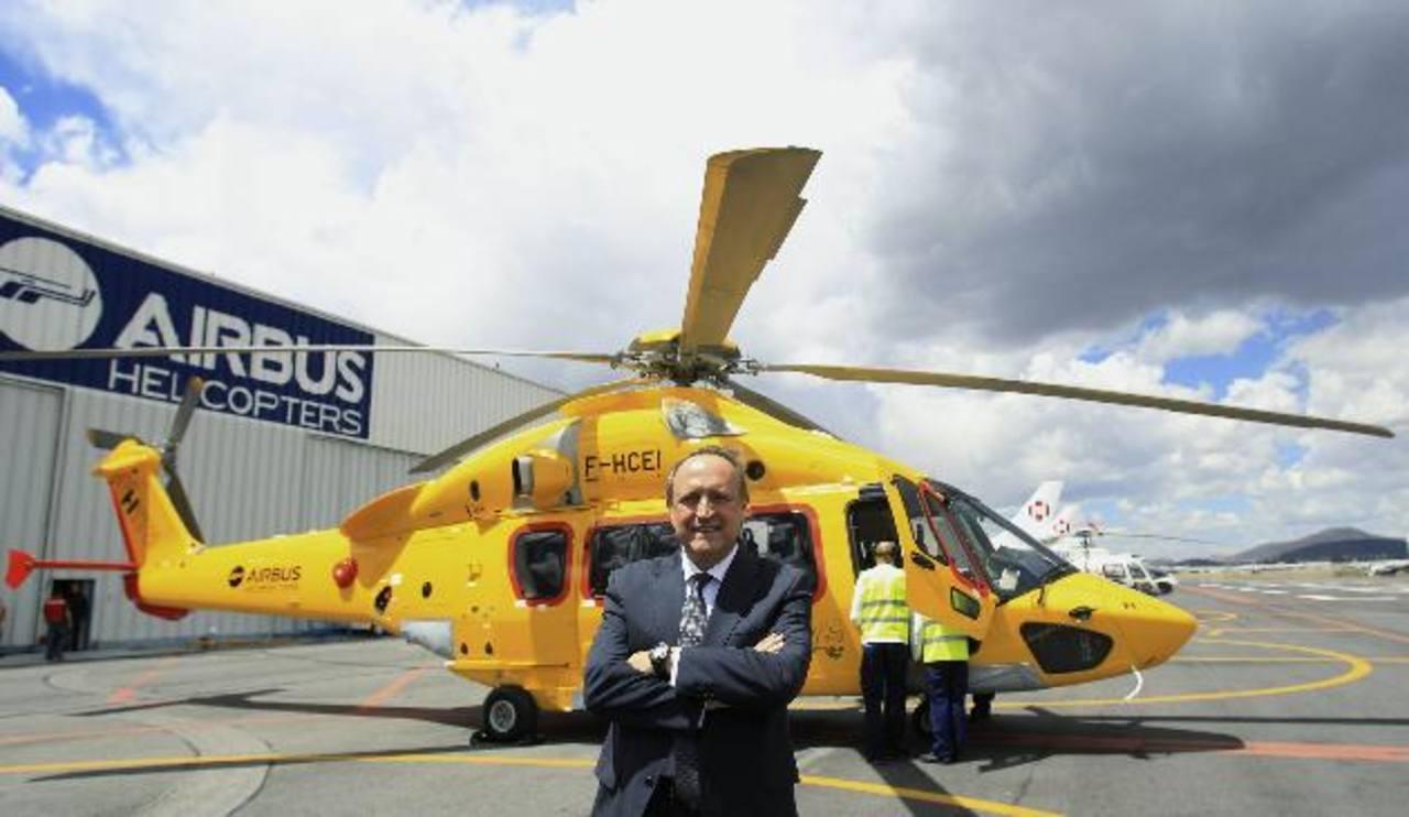 El nuevo director de la compañía Airbus Helicopters en México, el español Francisco Navarro, anunció que esta subsidiaria de la aeroespacial europea Airbus Group, prevé quintuplicar su producción en esE país en los próximos años.