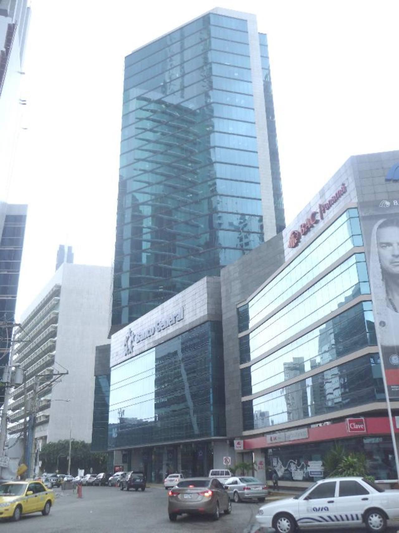 Torre del Banco General de Panamá, del que Stanley Motta es presidente.