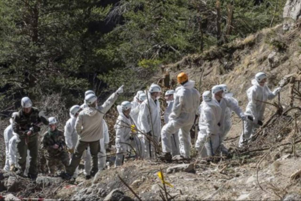 Francia finaliza búsqueda de cuerpos del accidente de Germanwings