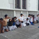 Entre los detenidos en el operativo hay sospechosos de asesinar a agentes de la Policía Nacional Civil. Foto EDH