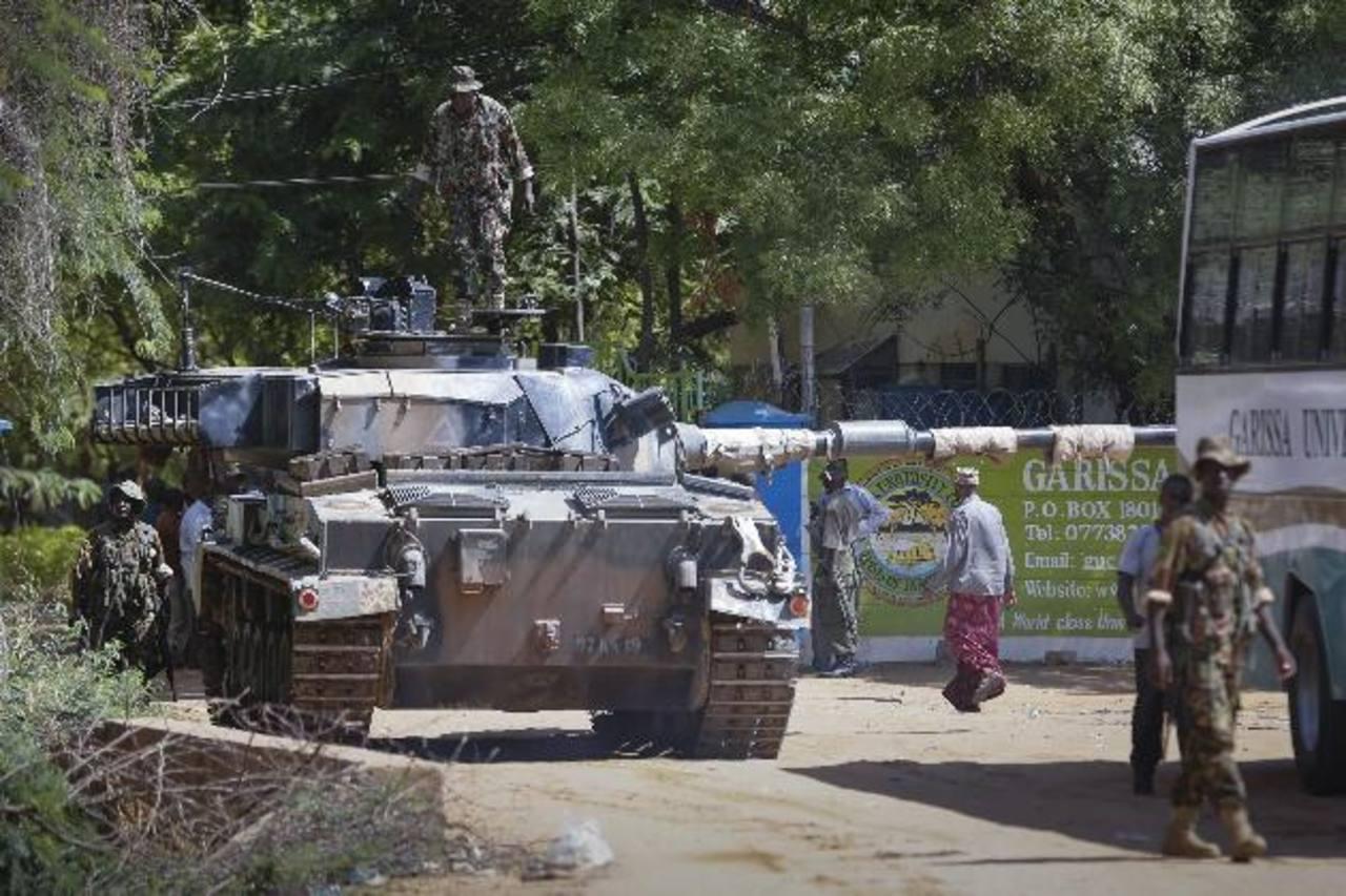 Al menos 15 muertos en un ataque a una universidad en Kenia