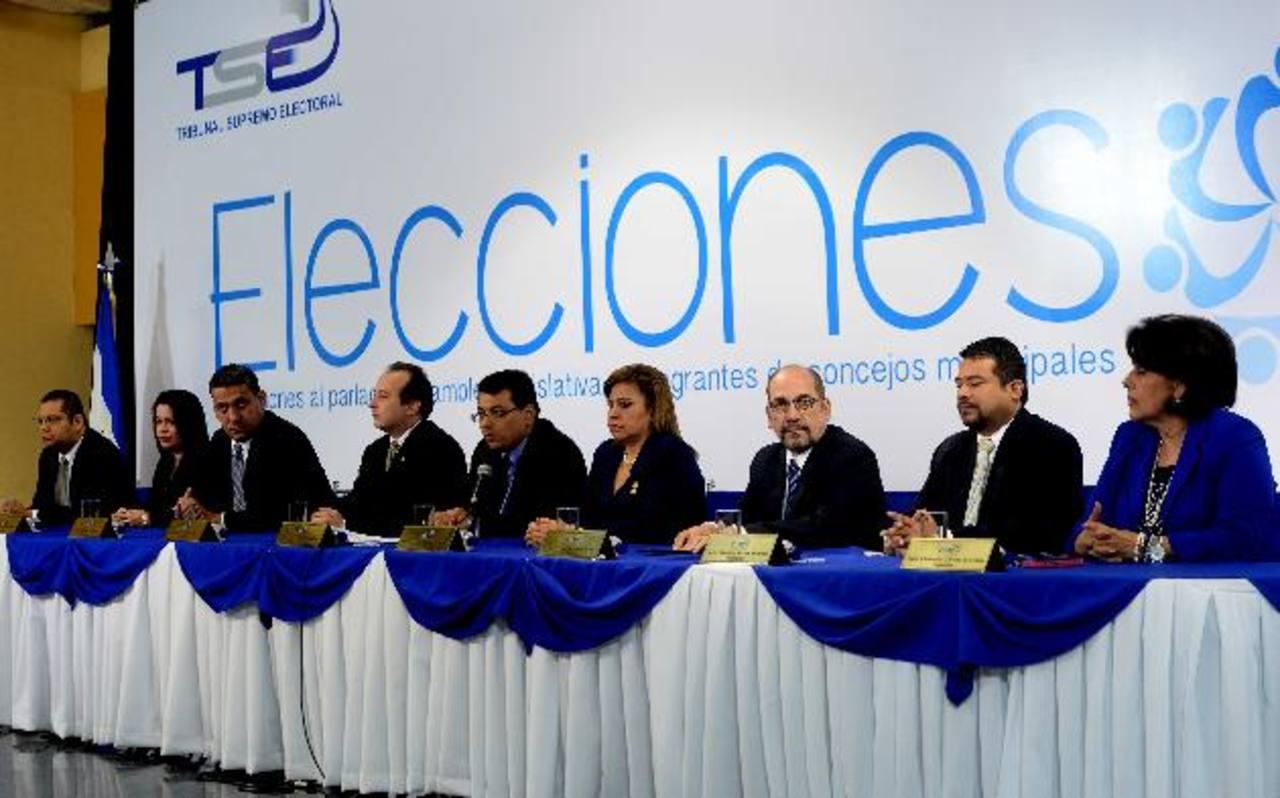 Todos los magistrados del TSE deben de llegar a un acuerdo de carácter administrativo para definir el mecanismo que se seguirá en la revisión de los votos de San Salvador. foto edh