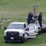 Helicóptero aterriza cerca del Capitolio y detienen a su ocupante