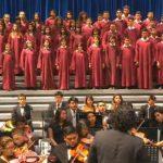 Orquesta Juvenil Don Bosco se presentó en el Banco Mundial