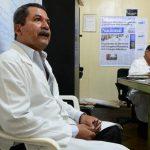 Juan Antonio Tobar, jefe de la Sala de Emergencias y miembro del sindicato de médicos del Rosales, se encuentra hospitalizado.