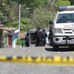 Lugar en donde mataron a un policía en San Juan Opico /