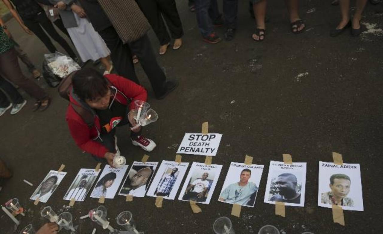 Indonesia ejecutará en unas horas a nueve condenados por narcotráfico