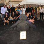 El equipo de SISA agradeció el apoyo del público, durante los días del evento. Foto EDH / Lissette Monterrosa