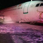 23 heridos durante el aterrizaje de un avión de Air Canada en Halifax