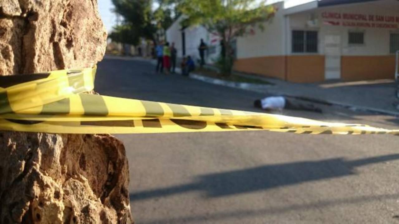 Matan a tres pandilleros en Sonsonate